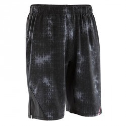 SHORT MUSCLE 500 NOIR AOP