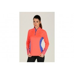 Mizuno Top WarmaLite Phenix Zippé W vêtement running femme