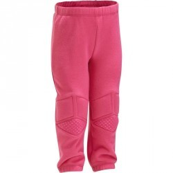 Pantalon chaud Gym baby rose