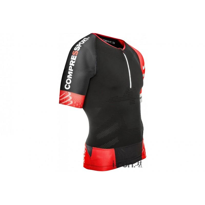 Compressport Tee-Shirt TR3 Aero M vêtement running homme