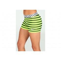 Nike Pro Stripes and Dots 7.5cm W vêtement running femme