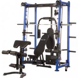 Maxxus - Multipresse 9.1 Smith machine avec banc de musculation et systeme de poulie