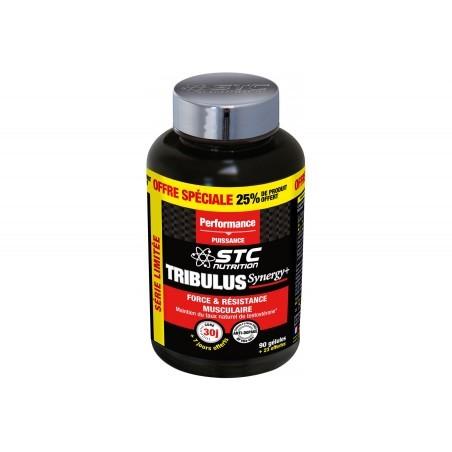 STC Nutrition Tribulus Synergy+ 90 gélules + 25% OFFERT Diététique Compléments