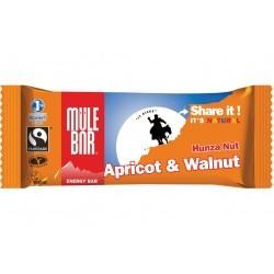 Mulebar Barre Energétique Hunza Nut - Abricot/Noix Diététique Barres