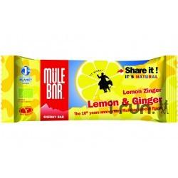 Mulebar Barre énergétique Citron Gingembre Diététique Barres