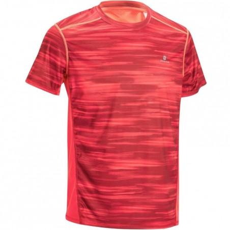 T-shirt fitness cardio homme imprimé rouge Energy