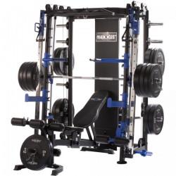 Maxxus - Multipresse 10.1 Smith machine avec banc de musculation