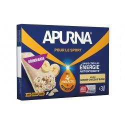 Apurna Barres énergétiques - Banane/Chocolat Blanc Diététique Barres