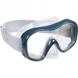 Masque de snorkeling SNK 500 adulte gris