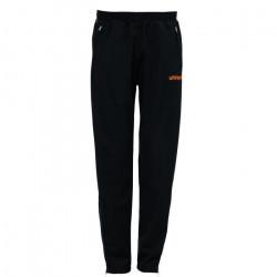 Pantalon classique junior Uhlsport Stream 3.0 - noir-orange fluo - 12 ans