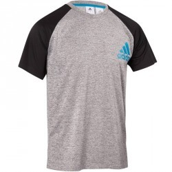 T-shirt fitness homme gris