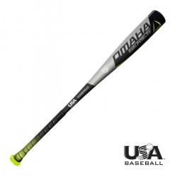 Batte de Baseball Louisville Slugger USA Omaha SRS pour enfant Noir / Vert 32