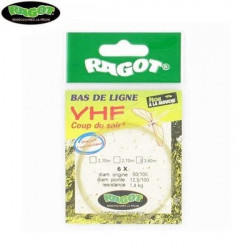 BAS DE LIGNE RAGOT VHF COUP DU SOIR 3.60 Modèle: 4X