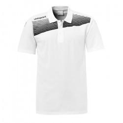 Polo junior Uhlsport Liga 2.0 - blanc-noir - 12 ans