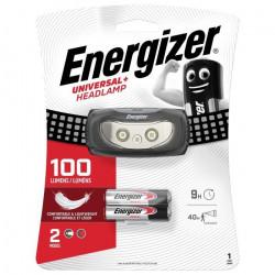 Lampe frontale LED Energizer Universal Plus à pile(s) 44 g 9 h noir