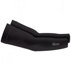 MIKASA Paire de manchons de Volley ball  MT415-049 - Noir - Taille unique