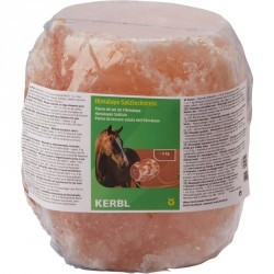 Pierre à sel équitation pour chevaux et poneys HIMALAYA environ 5 kg