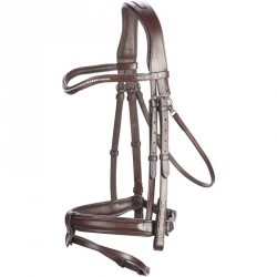 Bridon équitation poney BDL 580 STR P marron