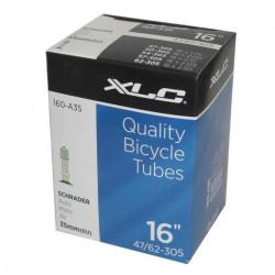 Chambre à air vélo XLC 16 pouces 1.75-2.125 Sch…