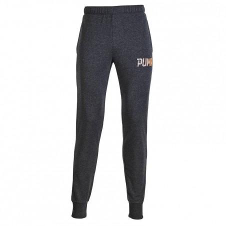 Pantalon gym pilates homme gris