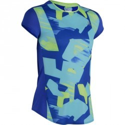 T-Shirt manches courtes Gym Energy fille bleu