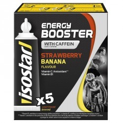 Gel énergétique ENERGY BOOSTER Fraise Banane 5x20g