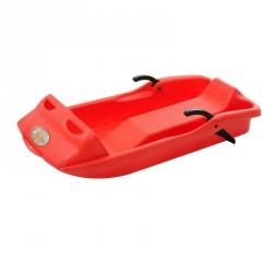 Luge biplace avec frein BOB 14 rouge