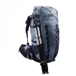 Sac à dos montagne TREK 900 50+10 femme bleu