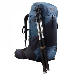 Sac à dos montagne TREK 700 50+10 Homme Bleu