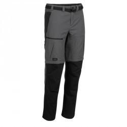 Pantalon modulable trekking montagne TREK 700 homme gris foncé