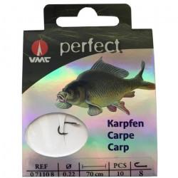 VMC - Hameçon PERFECT carpe taille 8 par 10
