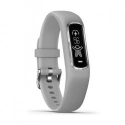 Bracelet de fitness GARMIN Vivosmart 4 - cardio - Taille S/M - Gris et argent