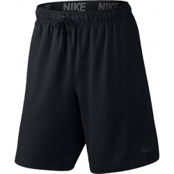 "1009N-TEXT PERF SHORT H  homme NIKE DF TRAINING FLEECE 8"" SHORT"