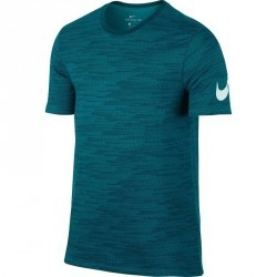 T-shirt gym pilates homme bleu