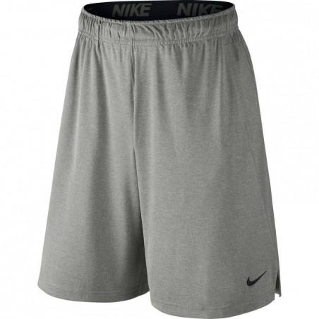 Short fitness homme gris