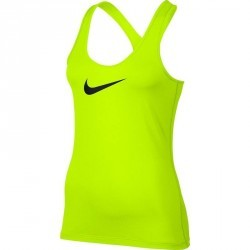 Débardeur fitness femme jaune