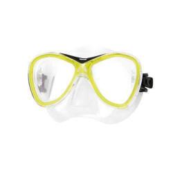 Seac   Masque en PVC de snorkeling adulte Jaune - CAPRI SILTRA
