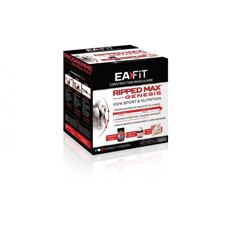 EAFIT Pack Ripped Max Genesis - vanille Diététique Protéines / récupération