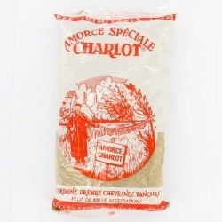 Amorce pêche CHARLOT BLANC GM 1 KG