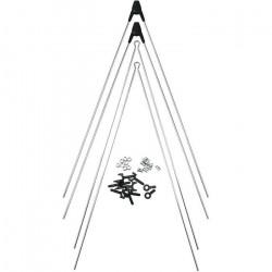 Kit 4 tringle pour jeu de garde-boues SKS bluemels 3.0 - blanc/noir - 380 mm