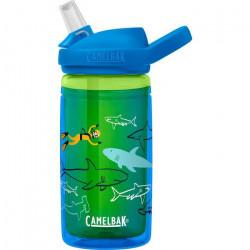CamelBak gourde Eddy+ Kids isolée 400 ml de bleu tritan