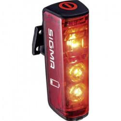 Feu arrière de vélo Sigma Blaze 15100 Ampoule LED à batterie rouge, noir 1 pc(s)