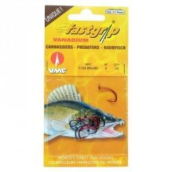 Hameçons pêche carnassiers FAST GRIP 7109-BN