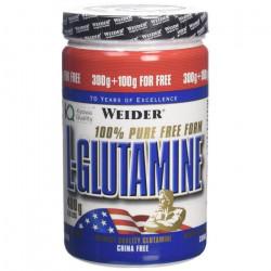Weider Complément en poudre L-Glutamine goût neutre 400 g