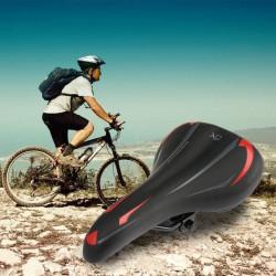 Selle de vélo Gel Confort Anti-choc Siège Réglable Antidérapant VTT Route 27 * 15cm L1383 C03083