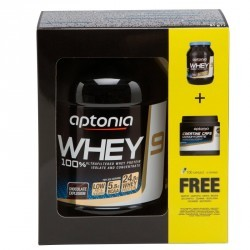 WHEY PROTEIN ISOLATE CHOCO 900G + CREATINE CAPS