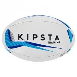 Ballon rugby R300 taille 4 bleu