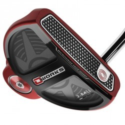 Putter golf adulte droitier ODYSSEY O'WORKS 2 BALLS