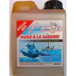 AMORCE PÊCHE EN MER HUILE DE SARDINE 1L