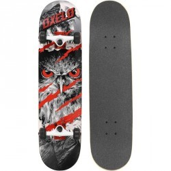 Skateboard SKATE MID 5 EAGLE ROUGE